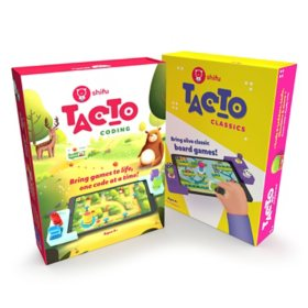 Shifu STEM Bundle - Classic Interactive Board Game (Ages 4+) and Coding Learn to Code While Helping Animals (Ages 4 - 10)
