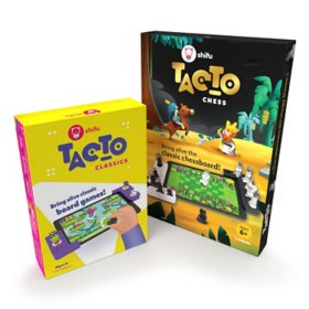 Shifu STEM Bundle - Classic Interactive Board Game (Ages 4+) and Chess Board Set (Ages 6-10)