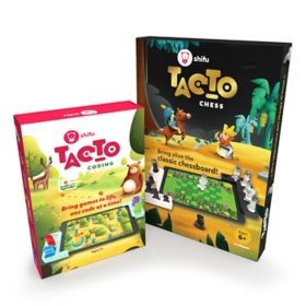 Shifu STEM Bundle - Coding Learn to Code While Helping Animals (Ages 4 - 10) and Interactive Chess Board Set (Ages 6-10)