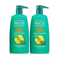 Garnier Fructis Grow Strong Shampoo and Conditioner (33.8 fl. oz., 2 pk.)