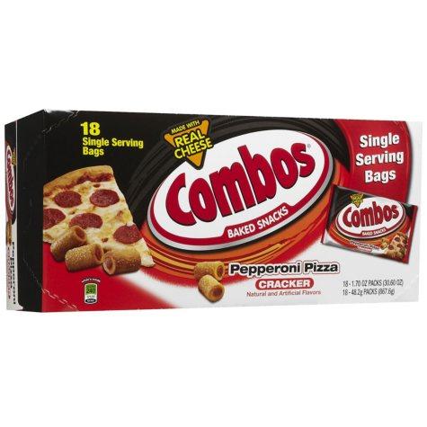 Pepperoni Pizza Combo's Peg Bag 1.8 oz. (16 ct.)