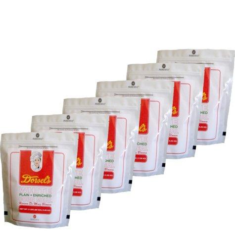 Dorsel's White Plain-Enriched Corn Meal (80 oz., 6 pk.)
