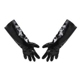 "Impact PVC Lined Gloves, Black (18"")"