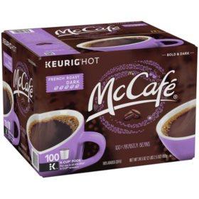 McCafe French Roast Coffee K-Cups (100 ct.)