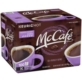McCafe French Roast K-Cup Coffee Pods (100 ct.)