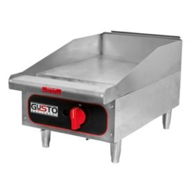 Gusto Natural Gas Manual Griddle (Various Sizes)
