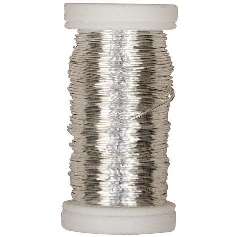 OASIS Silver Metallic Wire - 24 GA
