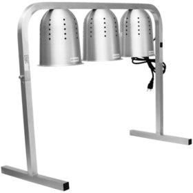 Chef's Supreme Triple Bulb Heat Lamp