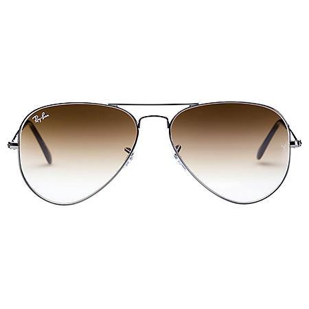 5475bc154e4 Ray-Ban Aviator Gradient Sunglasses (Choose A Color) - Sam s Club