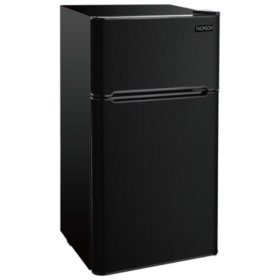 Thomson Black Stainless-Steel Two-Door Refrigerator (4.5 cu. ft.)