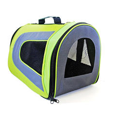 Iconic Pet FurryGo Universal Collapsible Pet Airline Carrier, Black - Medium