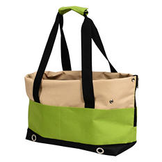 Iconic Pet FurryGo Pet Sports Handbag Carrier, Lime
