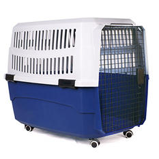Iconic Pet Pawings Travel Crate (Choose Your Size)