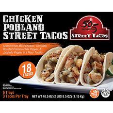 505 Southwestern Chicken Poblano Street Tacos (18 ct.)