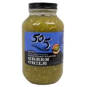 505 Roasted Green Chile (40oz.)