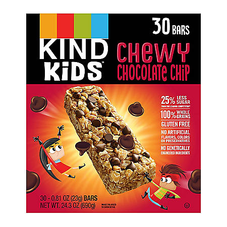 KIND Kids Chewy Chocolate Chip Granola Bars (30 ct.)