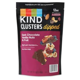Kind Dark Chocolate and Vanilla Nuts and Fruit Dipped Clusters (12 oz.)