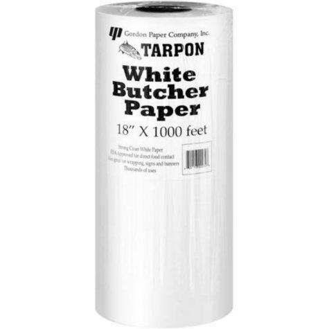 Gordon Paper Co., Inc. White Tarpon Butcher Paper