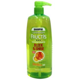 Garnier Fructis Sleek & Shine Shampoo, Pump (40 fl. oz.)