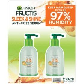 Garnier Fructis Sleek & Shine Anti-Frizz Serum (5.1 fl. oz., 2 pk.)