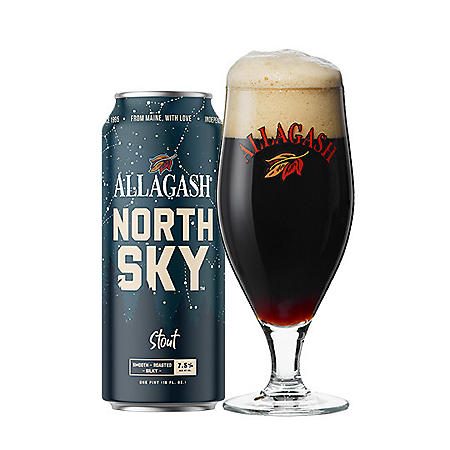 Allagash North Sky Stout Beer (16 fl. oz. can, 4 pk.)