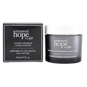 Philosophy Renewed Hope in a Jar Overnight Recharging & Refining Moisturizer (2 oz.)
