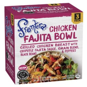 Frontera Chicken Fajita Bowls, Frozen (3 pk.)