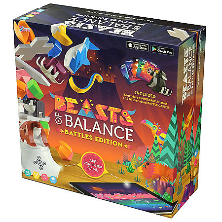 Beasts of Balance - Digital Tabletop Hybrid Family Stacking Game For Ages 6+