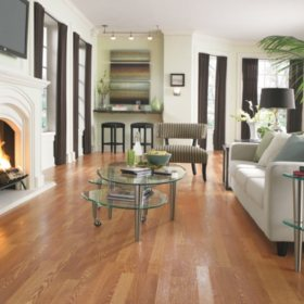 Traditional Living Golden Amber Oak II Laminate Flooring