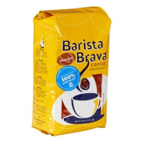 Barista Brava by Quartermaine Whole Bean Coffee, Hazelnut (40 oz.)