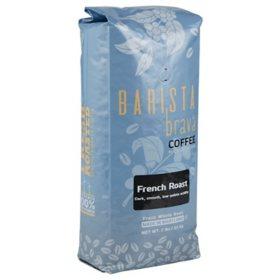 Barista Brava by Quartermaine Whole Bean Coffee, French Roast (32 oz.)