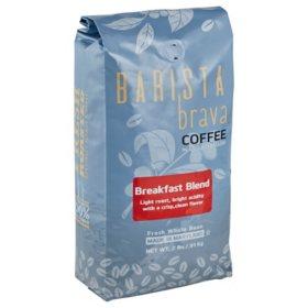 Barista Brava by Quartermaine Whole Bean Coffee, Breakfast Blend (32 oz.)