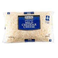 Daily Chef Mild White Shredded Cheddar (5 lbs.)