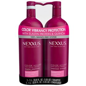 Nexxus Color Assure Shampoo and Conditioner (33.8 fl. oz., 2 pk.)