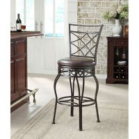 Deals on Home Meridian Killey Metal Barstool