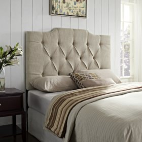 Burton Tufted Headboard - Full/Queen