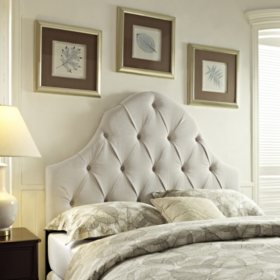 Lawson Tufted Fabric Headboard (Various Sizes)