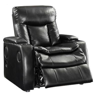 $449.00  sc 1 st  dealepic & $449.00 Preston Power Reclining Home Theater Chair with Cup Holder ... islam-shia.org