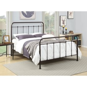 Callie All-in-One Queen Metal Bed