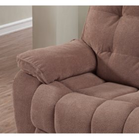 Stupendous Reclining Sofa And Glider Loveseat Set Assorted Colors Ibusinesslaw Wood Chair Design Ideas Ibusinesslaworg