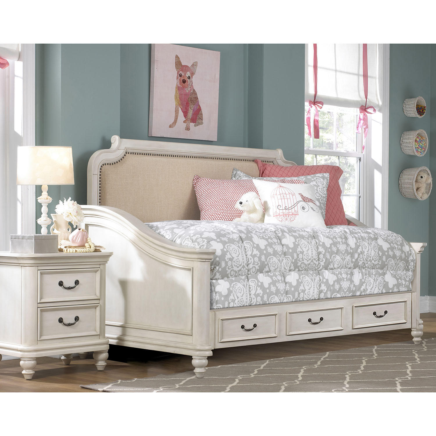 Adaline Daybed with Trundle Bed