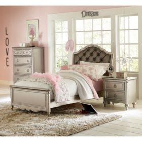Shimmer Bedroom Set (Assorted Sizes)