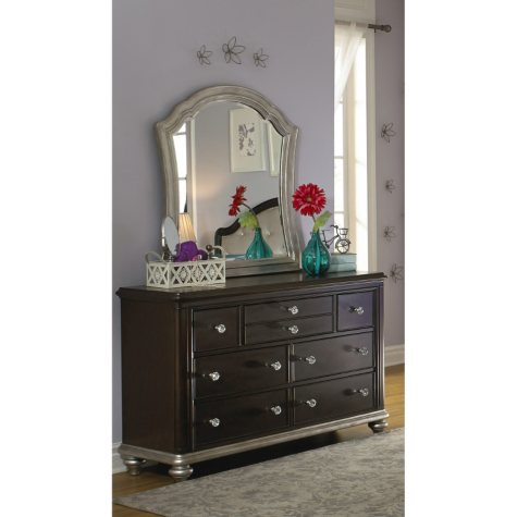 Tiara 7-Dresser and Mirror