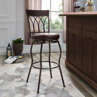 Home Meridian Metal 2-in-1 Leg Adjustable Barstool Deals