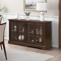 Deals on Home Meridian Four-Door Accent Console
