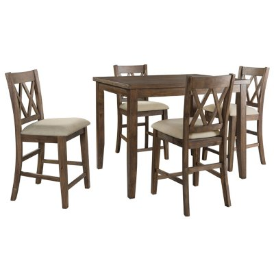 Oliver 5 Piece Counter Height Dining Set Sam S Club
