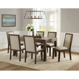 Brilliant Hayden Dining Set Assorted Options Sams Club Ibusinesslaw Wood Chair Design Ideas Ibusinesslaworg