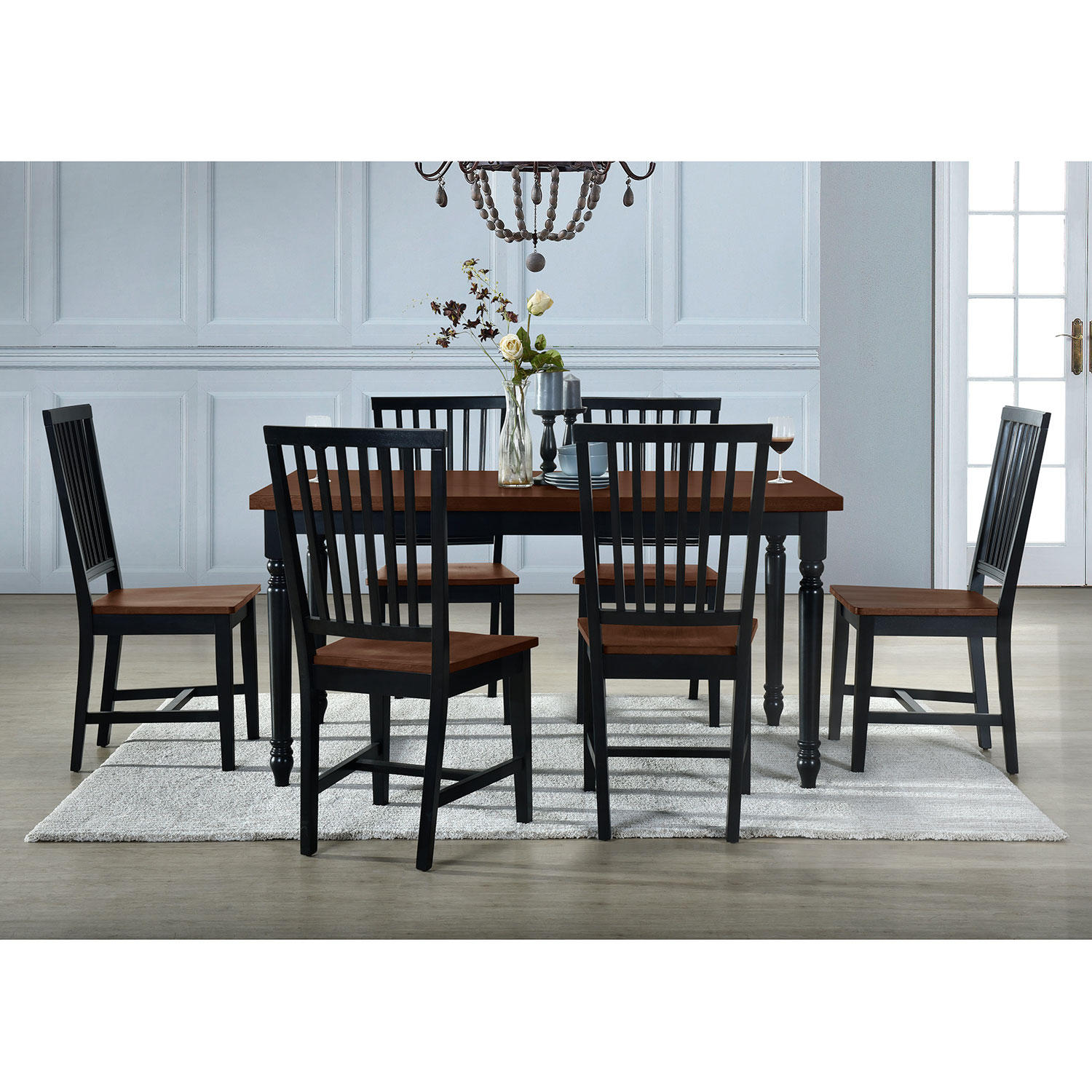 7-Piece Home Meridian Westlyn Dining Set