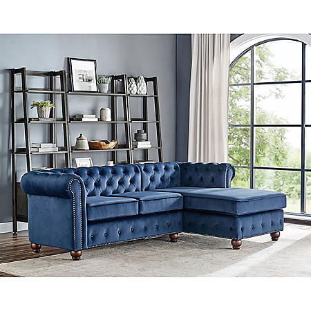 Chesterfield Style Sofa (Assorted Colors)