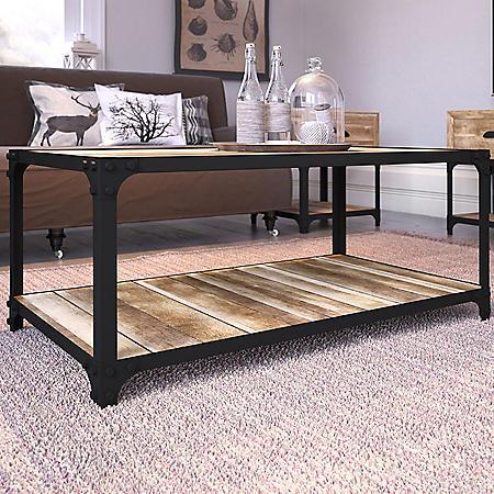Elk Grove Rustic Coffee Table, Assorted Colors